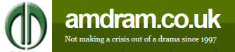 amdram logo and banner