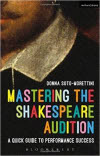 front cover for Mastering The Shakespeare Audition