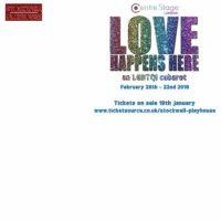 Love Happens here – An LGBTQI Cabaret